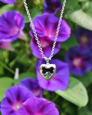 USA Cremation Jewelry Pendant Urn Ashes NECKLACE Dog Bone Heart Pets US SELLER!!