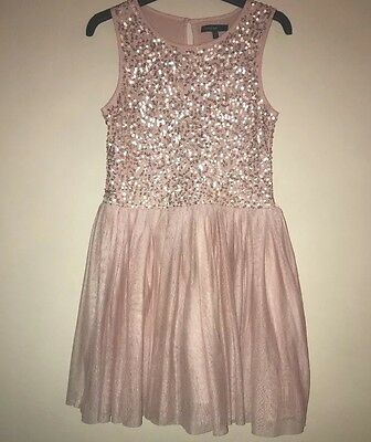 I Love Next Shop Full Outfit Rose Gold Pink Glittery FULL Evening Party Outfit