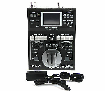 Roland V-4EX Four Channel Digital Video Mixer V4EX V4 EX