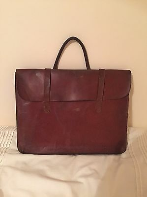 Leather 1930,s Piano/music Bag Brown