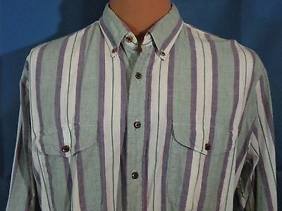 Men's NORTHWEST TERRITORY Button Front LARGE  Long Sleeve Shirt