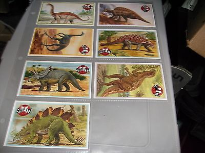 dinosaur cards - orbis publishing
