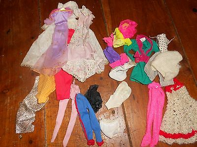 Job lot Vintage Barbie Sindy Clothes