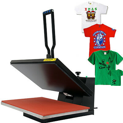 "16x24"" Sublimation Heat Press T-Shirt Clothing Pattern Transfer Pressing Machine"