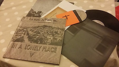 "Tape Loop Orchestra - In A Lonely Place - 12"" Vinyl+CD - Mint Condition"