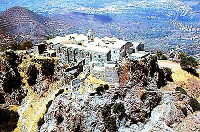 Cyprus Monastery Postcard as picture * Combined Shipping available * 209S11