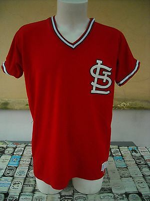 Maglia Baseball Mlb St Louis Cardinals Russell L Vintage Shirt Maillot Jersey