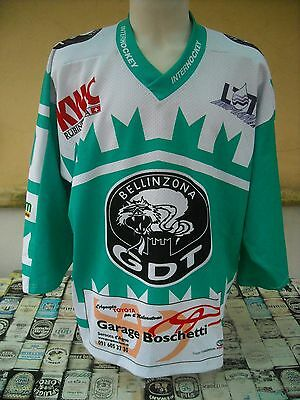 Maglia Hockey Gdt Bellinzona #20 Mini Interhockey L Shirt Maillot Trikot Jersey
