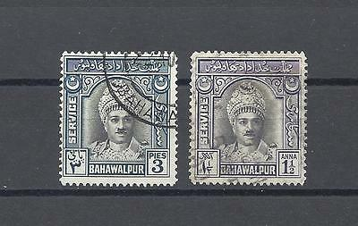 PAKISTAN / BAHAWALPUR 1945 O17/18 USED Cat £26