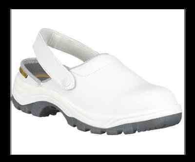 Chaussure en cuir blanche - Taille 43 - SAFETY JOGGER - X0700