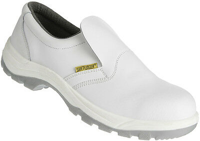 Chaussure basse en cuir blanche - Taille 41 - SAFETY JOGGER - X0500 S2