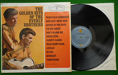 The Golden Hits Of The Everly Brothers Original 1962 Collectable UK Mono WM 8108