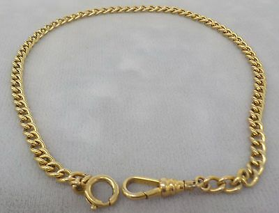 Vintage Goldtone Watch Chain