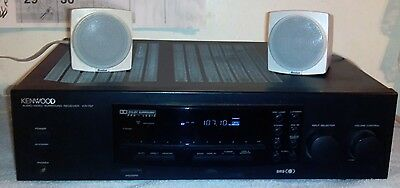 KENWOOD KR-797 Stereo Receiver Amplifier Tested Works Properly