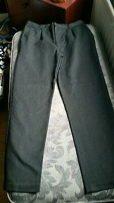charcoal grey school trousers
