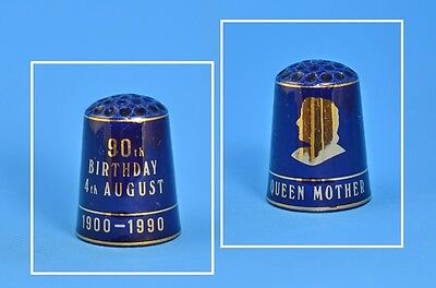 THIMBLE CRAFT BY SHIRLEY THIMBLE - QUEEN MUM'S 90th