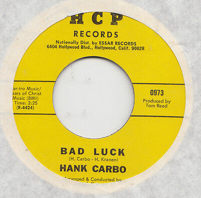 Funk  -   Hank Carbo -- Bad Luck