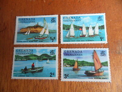 Grenada Grenadines ~ MNH Set Of 4 ( Boats)