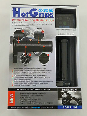 Oxford Premium Touring Heizgriffe Griffheizung Hotgrips Touring Heated Grips