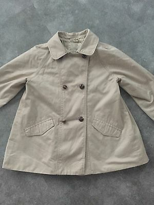 Zara Trench Coat/Mac Age 6-7