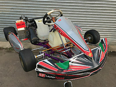 2012 Exprit Tony Kart With A Rotax Max Junior Cream Engine