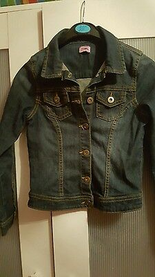Girls Denim jacket age 7 to 8