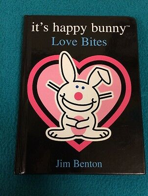 It's Happy Bunny ~ Love Bites ~ A Funny/Sarcastic Look At Love