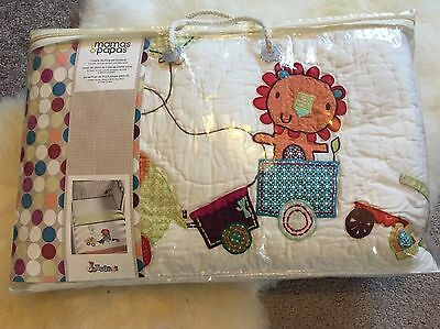 Mamas & Papas Jamboree 3 Piece Bed set