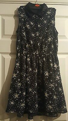 Girls 13-14 years black party dress