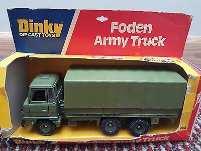 Dinky Foden Army Truck No 668 Boxed