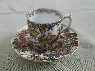 Royal Crown Derby Olde Avesbury Coffee Cup And Saucer