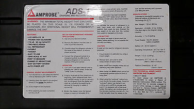Amprobe Ads-1 Charging And Recovery Scale