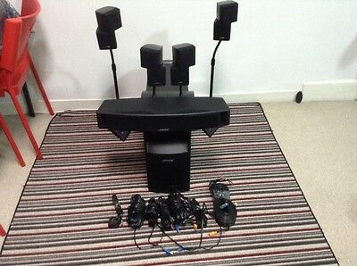 Bose acoustimass 6 series 3 Home cinema system with bose stands