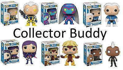 Funko Pop! All Six Marvel 177-182 X-Men Complete Set Vinyl Bobble-Head Figures