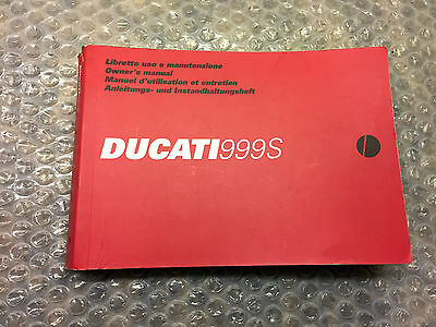 Ducati  999S Owners Manual 913.080.1A