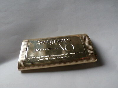 Seagram's VO Canadian Whisky Key Case Chain Seagram Whiskey Distillery NY