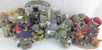 Me to You Bears Collection Christmas and Others X14 Lot