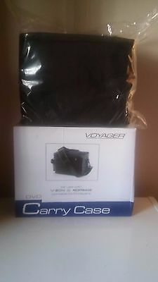 Voyager Carry Case for Twin Portable DVD Players . Brand New Item.