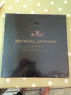 Michael Jackson Dangerous Collector's Edition First Printing New Sealed CD
