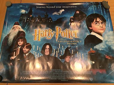 Harry Potter and the Philosopher's Stone Original Cinema Poster