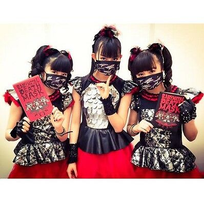 New BABYMETAL Official DEATH MASK FREE SHIPPING AIR Tracking JAPANESE METAL IDOL
