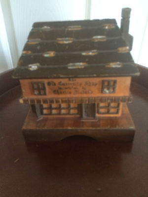 Music Box Dicken's The Old Curiosity Shop, Wooden. Made in England. Swiss Movt