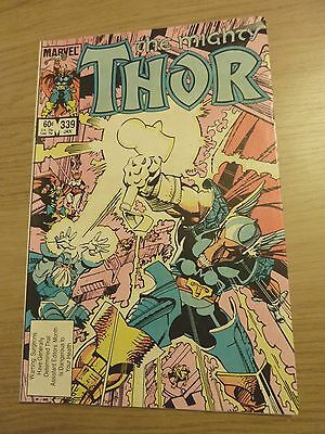 Marvel - The Mighty Thor Jan 1984 No. 339