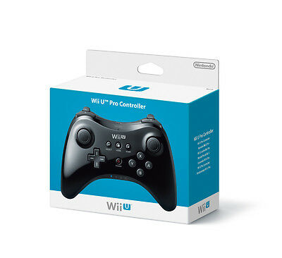 Official Nintendo Wii U Pro Controller - Brand New In Box