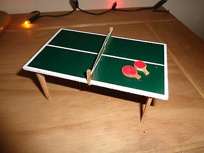 Lundby vintage dolls house table tennis table