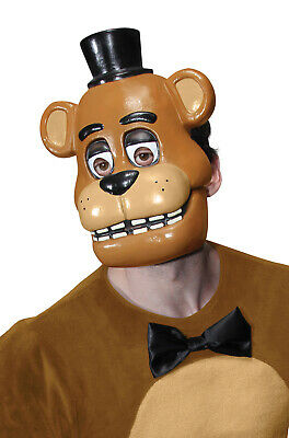 FIVE NIGHTS AT Freddy's Freddy 1/2 Mask & Brown Mitts, Child