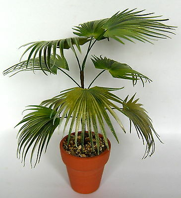 CHINESE FAN PALM handmade dolls house MINIATURE PLANT 12th scale living room