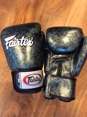 New Limited Edition Fairtex Emerald Green Boxing Gloves 16oz FREE SHIPPING