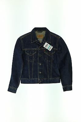 Levis Jacke/Mantel blau S Jeansjacke Alltag Taillenlang ohne Muster #04a01cb