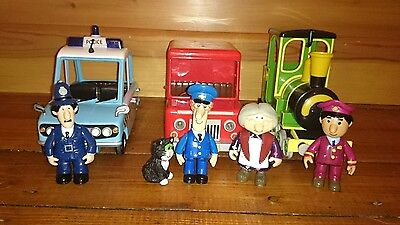 Postman Pat toy bundle (figures and vehicles)